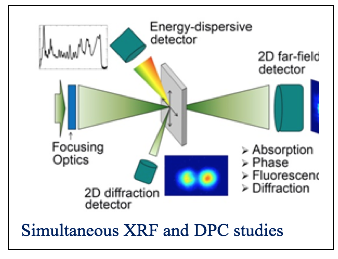 siultaneous XRF and DPC studies